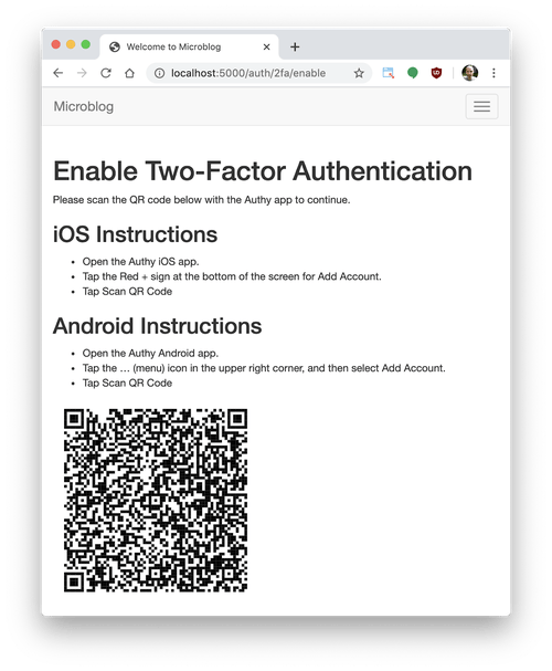 Push Two-Factor Authentication in Python with Twilio Authy